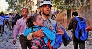 A Barrel Morning in Aleppo City
