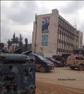 الأسد يحيي ضحاياه