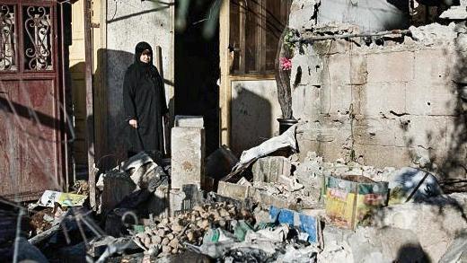 مشاهد مؤنثة من الحرب السورية
